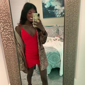 Red Princess Polly Dress